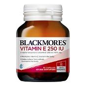 Blackmores Natural Vitamin E 250IU 50 Capsules