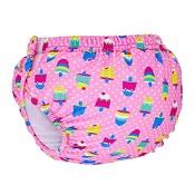 Zoggs Sea Unicorn Adjustable Swim Nappy Pink 3-24 Months (Assorted designs chosen at random)