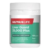 Nutra-Life Liver Guard 35,000 Plus 100 Capsules