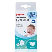 Pigeon Baby Tooth & Gum Wipes Natural 20 Pieces