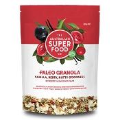 The Australian Superfood Co Paleo Granola Vanilla, Berry, Nutty Goodness 320g