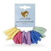 Lady Jayne Softies Bright Elastics 24 Pack