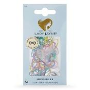 Lady Jayne Snagless Elastic 1cm Diameter Assorted 50 Pack