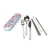 Retrokitchen Stainless Steel Cutlery Set Botanical