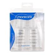 Manicare Travel Bottles 2 x 75ml