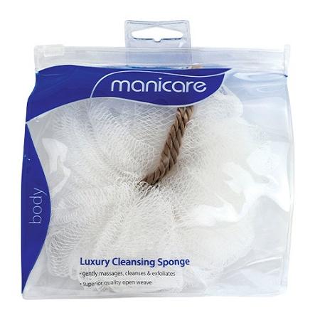 Manicare Luxury Cleansing Sponge White