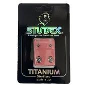 Studex Mini Traditional Titanium Stud Earring 1 Pair