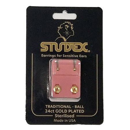 Studex Mini Traditional Stud Earring Gold 1 Pair