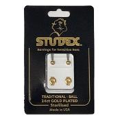 Studex Regular Traditional Gold Stud Earring 1 Pair