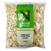 Natural Grocer Yeast & Wheat Free Muesli 750g (Exp: December 2021, no refunds or exchanges)