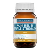 Ethical Nutrients CURCUZORB Pain Relief Triple Strength 30 Tablets