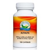 Natures Sunshine Alfalfa 450mg 100 Capsules