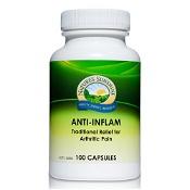 Natures Sunshine Anti-Inflam 475mg 100 Capsules