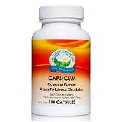 Natures Sunshine Capsicum 475mg 100 Capsules