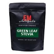 EM Wholefoods Green Stevia Leaf Powder 250g