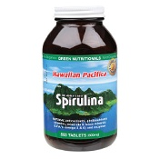 Green Nutritionals Hawaiian Pacifica Spirulina 500mg 500 Tablets
