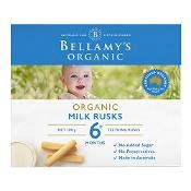 Bellamys Organic Milk Rusks for Teething 100g