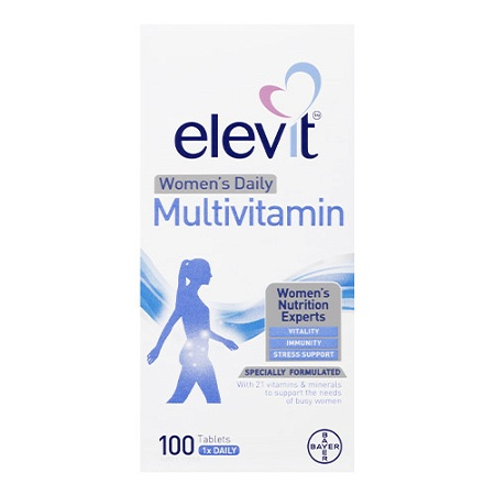 Elevit Womens Daily Multivitamin 100 Tablets