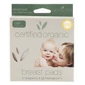 Natures Child Reusable Breast Pads Organic Light & Discreet 6 Pack
