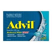 Advil Ibuprofen 200mg 90 Liquid Capsules