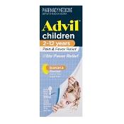 Advil Pain & Fever Suspension 2-12 Years 200ml