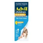 Advil Pain & Fever Suspension 2-12 Years 100ml