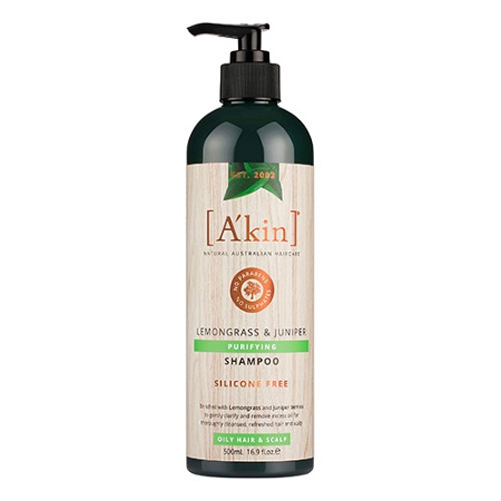 Akin Purifying Lemongrass & Juniper Shampoo 500ml