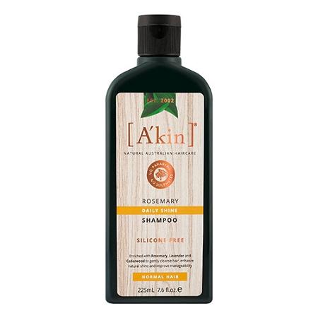 Akin Daily Shine Rosemary Shampoo 225ml