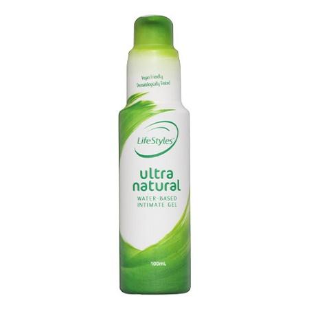 LifeStyles Ultra Natural Water Based Intimate Gel 100ml