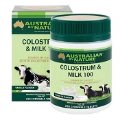 Australian by Nature Colostrum Milk 850mg (Vanilla flavour) 250 Chewable Tablets
