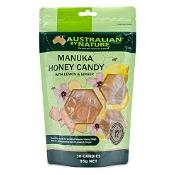 Australian by Nature Manuka Honey Candy with Lemon & Ginger 30 Pack
