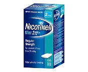 Nicotinell Chewing Gum Mint 2mg 96 Pieces