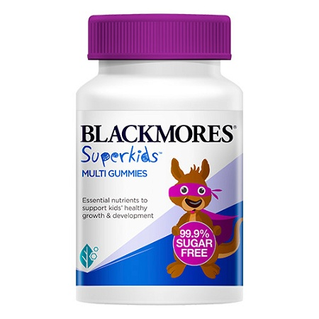 Blackmores Superkids Multi Gummies 60 Pack (Exp: March 2022, no refunds or exchanges)