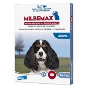 Milbemax Broad Spectrum Wormer Dog Small 0.5-5kg Light Blue 2 Pack