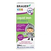 Brauer Kids Iron & Vitamin B 200ml