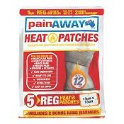 Pain Away Heat Patches Regular 5 Pack