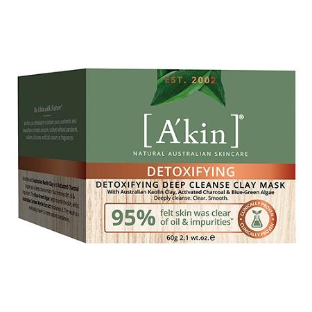 Akin Detoxifying Deep Cleanse Clay Mask 60ml
