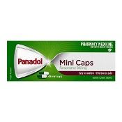 Panadol Mini Caps Paracetamol 500mg 48 Mini Caps