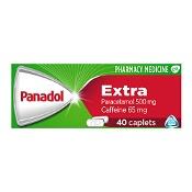 Panadol Extra with Optizorb Paracetamol 500mg 40 Caplets (Expiry: November 2021, no refunds or exchanges)