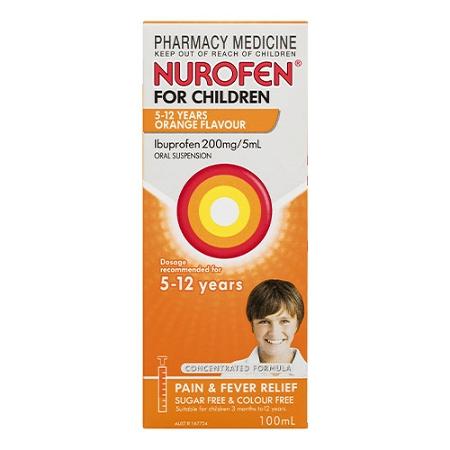 Nurofen for Children 5 - 12 Years Orange 100ml