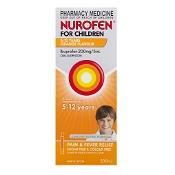 Nurofen for Children 5 - 12 Years Orange 200ml