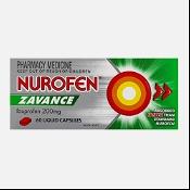 Nurofen Zavance Fast Pain Relief 60 Liquid Capsules