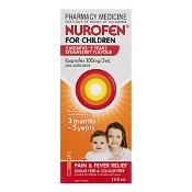 Nurofen for Children 3 Months - 5 Years Strawberry 100ml
