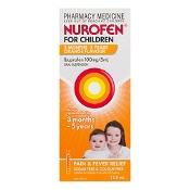 Nurofen for Children 3 Months - 5 Years Orange 100ml
