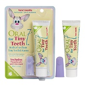 Oral Seven Tiny Teeth Gel 48ml & Fingerbrush