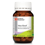 Oriental Botanicals Vitex Excel 60 Tablets