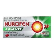 Nurofen Zavance Fast Pain Relief 80 Liquid Capsules (Expiry: November 2021, no refunds or exchanges)