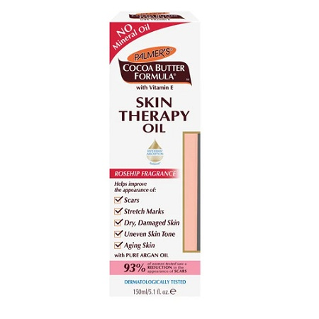 Palmers Cocoa Butter Skin Therapy Oil Rosehip Fragrance 150ml