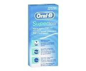 Oral B Superfloss Dental Floss Pre-Cut Strands 50 Pack