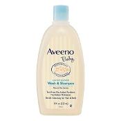 Aveeno Baby Wash & Shampoo Lightly Scented 532ml